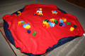 Imagine for Kids Drawstring Play Mats 110cms - Navy & Red