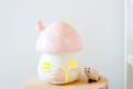 Little Belle Fairy Toadstool Light - Pink and White Dots