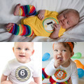 Sticky Bellies Unisex Designs 0-12 months