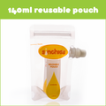 Sinchies Reusable Food Pouches - 140ml 5 pack