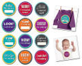 Sticky Bellies Milestone Momentos: Baby's Firsts