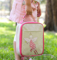 Apple and Mint Lunch Bag - Pink Fairy