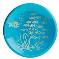 Brinware Tempered Glass Dish - School of Fish