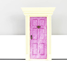 Lil Fairy Door Pink Sparkle - Limited Edition