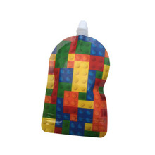 My Lil Pouch Reusable Food Pouch 140ml Bricks