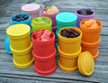 Re-Play Recycled Plastic Infant Tableware - Snack Stacks 2PK