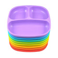 Re-Play Recycled Plastic Infant Tableware - Divided Plate Single