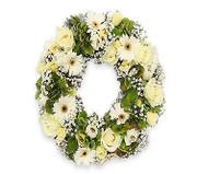 Luxury Pure White Wreath
