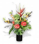 Tropical Flower Vase