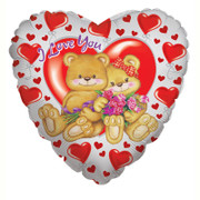 I Love You Bear With Roses