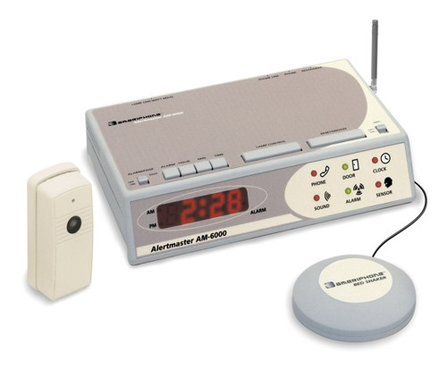 AlertMaster AM6000 w/Door Bell & Bed Shaker by Clarity