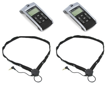 Comfort Contego Dual Receiver Kit with Neckloops