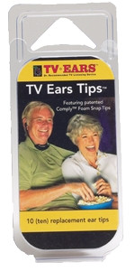 TV Ear Tips 10-pack Foam