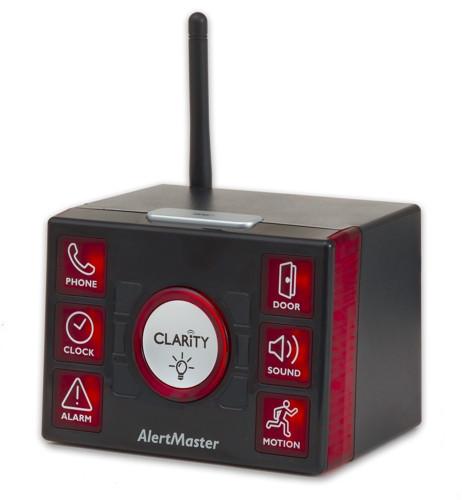 Clarity AlertMaster AL12 (Angle w/Antenna)
