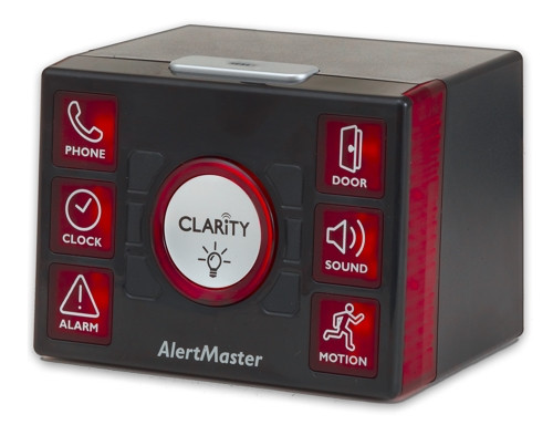 Clarity AlertMaster AL12 (Front w/Antenna)