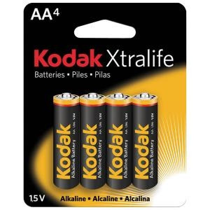 Battery AA Alkaline (4-Pack)