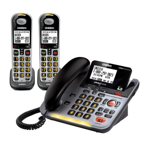uniden d3098 2s rh teltex com Manual for Uniden DECT 6.0 Cordless Phone Uniden Answering Machine Set Up