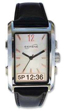 Serene VQ500 Vibrating Alarm Dress Watch