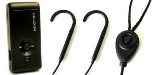 NoiZfree NZ-BTH3ST2 Bluetooth Silhouette - Dual w/ Neckloop