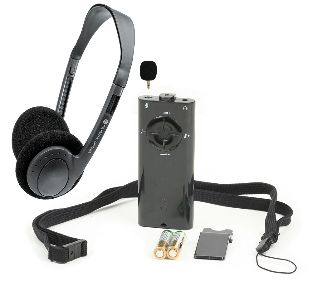 Conversor Listenor Pro with Headphones and Mic