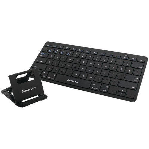 IOGEAR Slim Multi-Link Bluetooth Keyboard with Stand