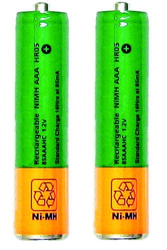 Comfort Duett Rechargeable Batteries (2)