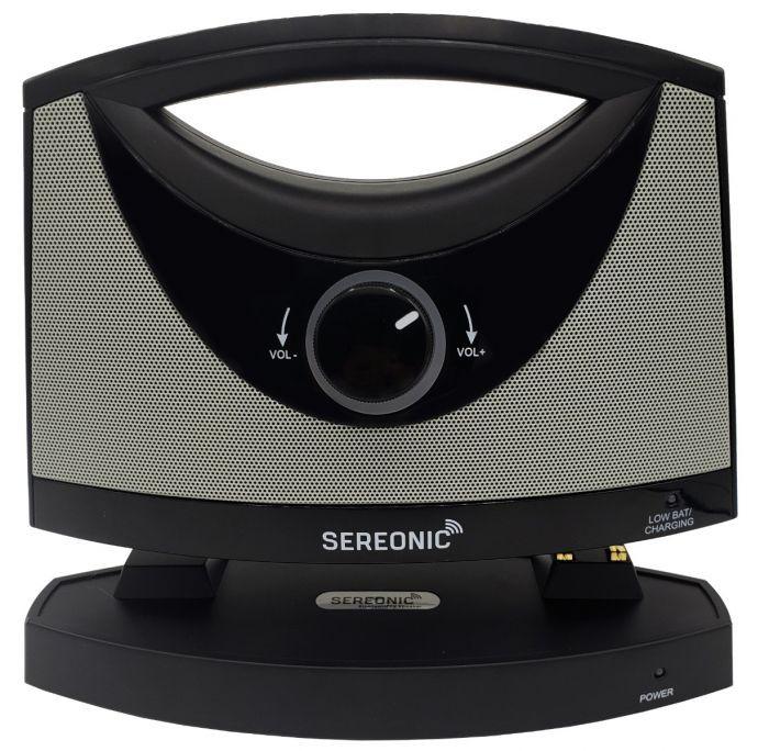 Sereonic TV SoundBox® by Serene - BT100 (SoundBox lifted from transmitter/charging base)