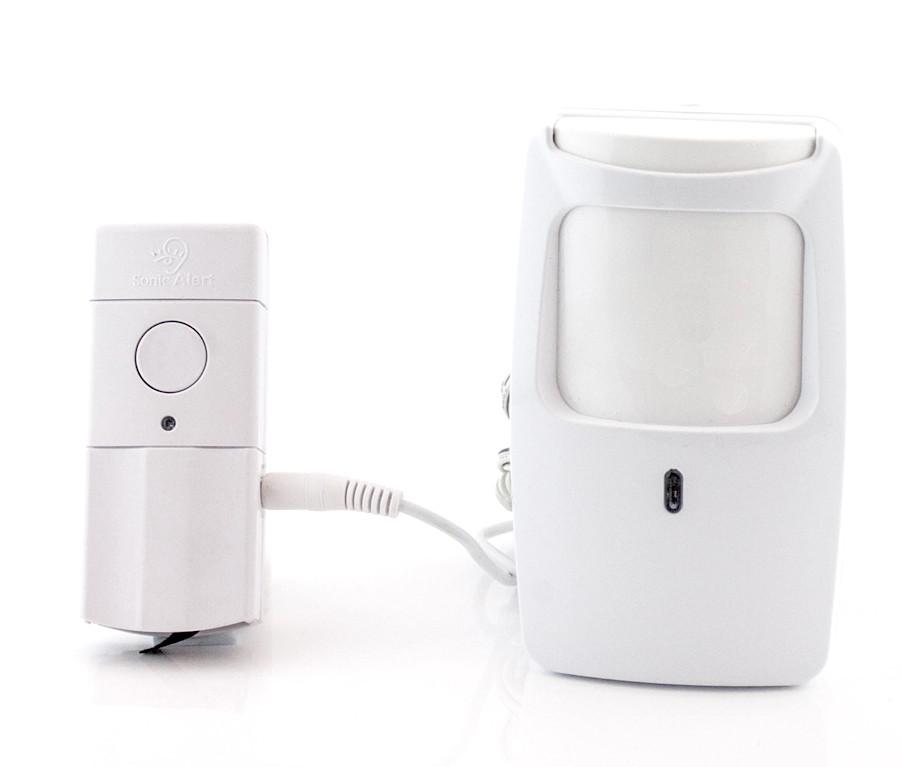 Sonic Alert HomeAware Motion Sensor With Remote Transmitter