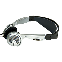 Cardionics Convertible-Style Headphones with Micro-USB (718-0420)