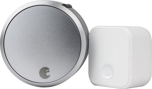 August Smart Lock Pro + Connect - Smart Door Lock - Silver