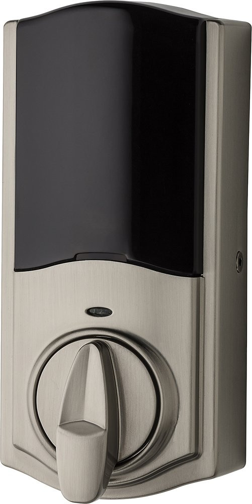 Kwikset Kevo Smart Lock, 2nd Gen - Satin Nickel - Interior