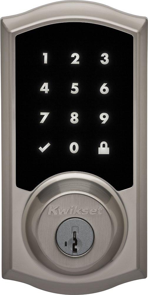 Kwikset 919 Premis Smart Lock - Satin Nickel - Exterior