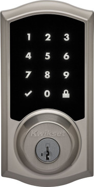 Kwikset 919 Premis Smart Lock - Satin Nickel - Exterior