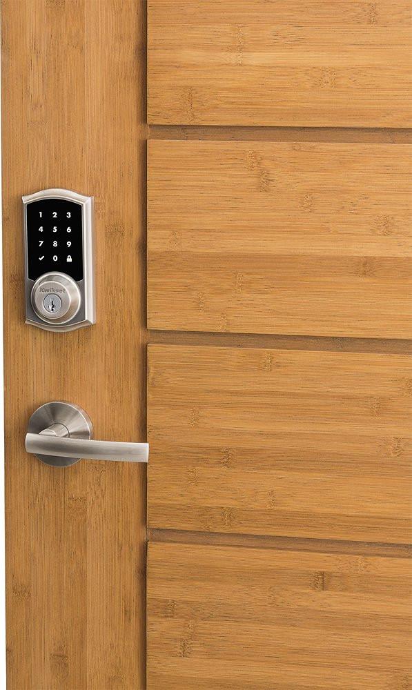 Kwikset 919 Premis Smart Lock - Satin Nickel - Door Mounted