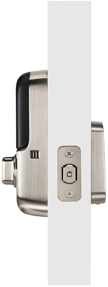 Yale Assure SL Smart Lock - Satin Nickel - Door Mounted