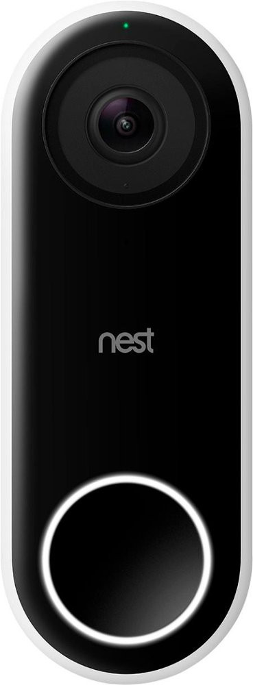 Nest Hello Smart Video Doorbell - Front