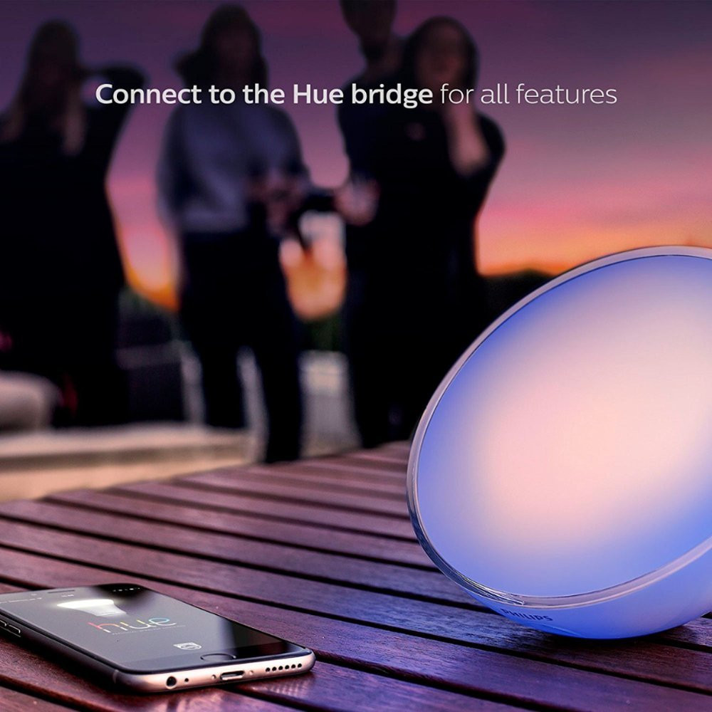 Philips Hue Go White and Color Portable Lamp - with App (Phone and Bridge Sold Separately)