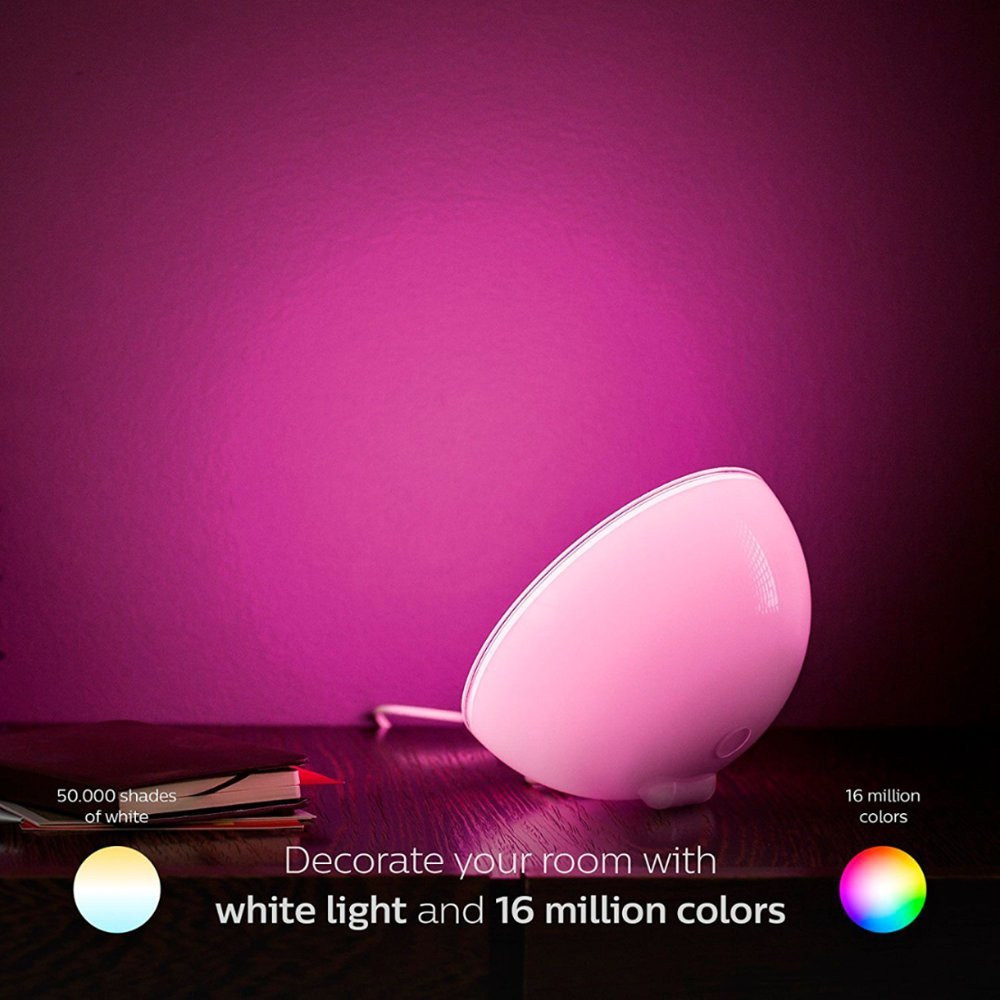 Philips Hue Go White and Color Portable Lamp - Millions of Colors