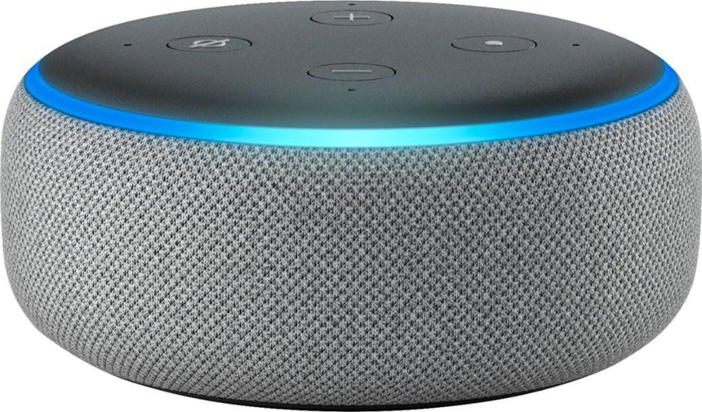 Amazon Echo Dot, 3rd Gen - Heather Gray