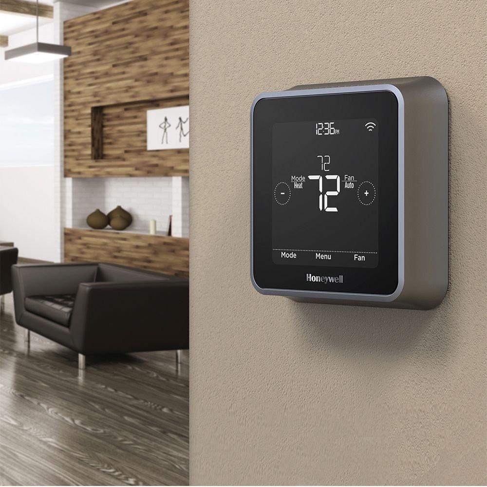Honeywell Lyric T5+ Thermostat - On Wall