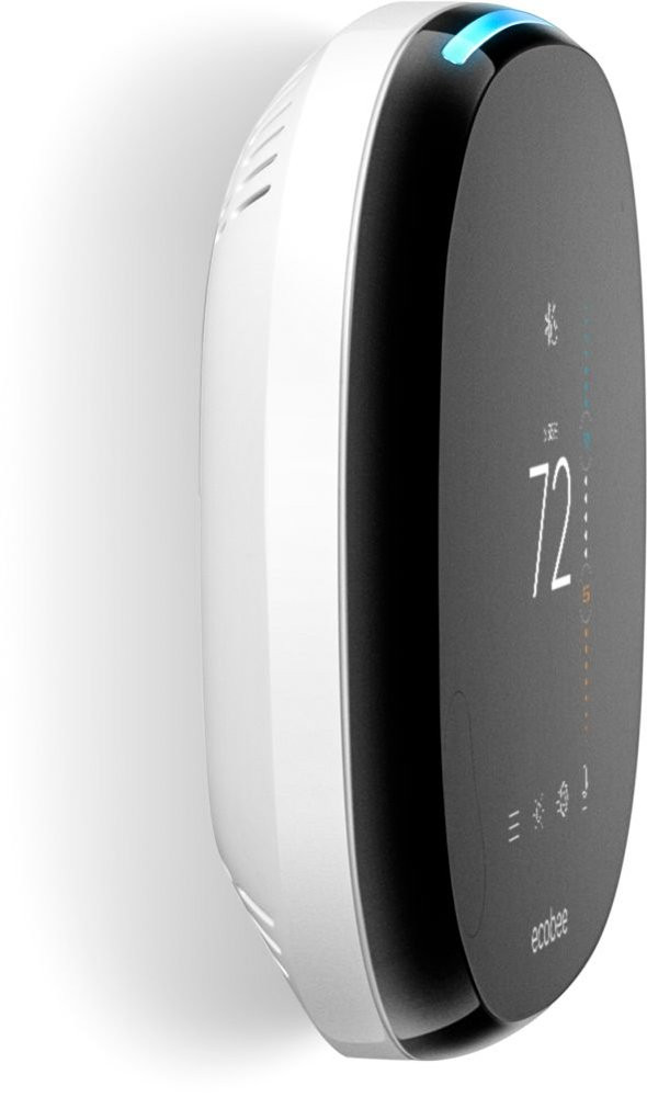 ecobee4 Thermostat with Room Sensor - Side
