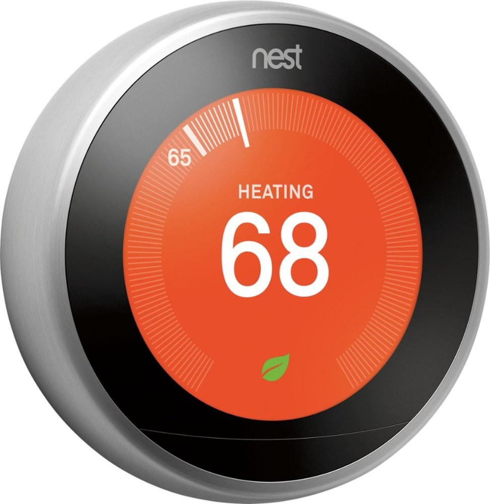 Nest Learning Thermostat, 3rd Gen - Angle