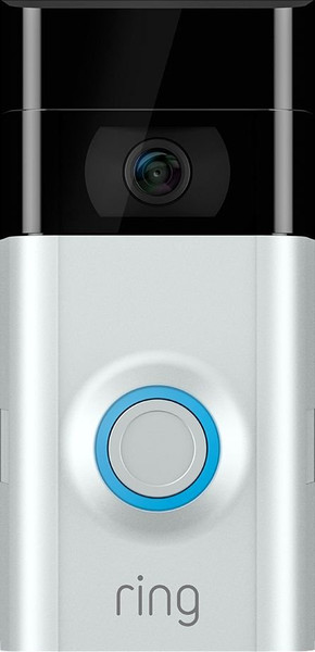 Ring Video Doorbell 2 - Satin Nickel