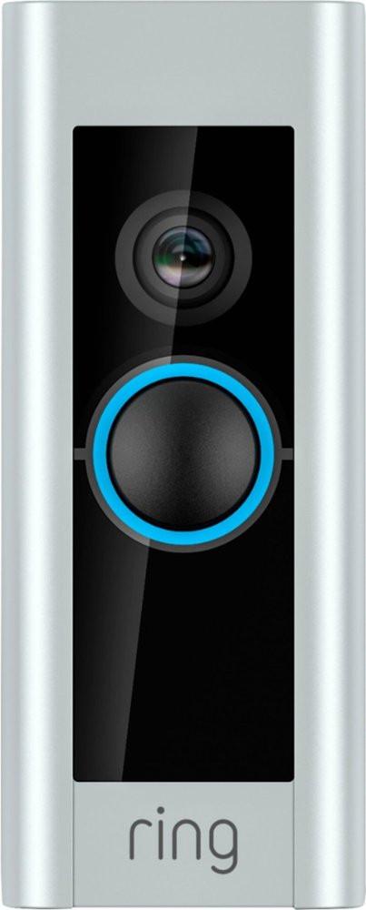 Ring Video Doorbell Pro - Satin Nickel