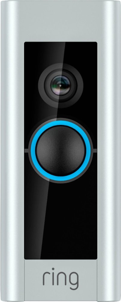 Ring Video Doorbell Pro - Satin Nickel