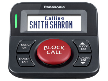 Panasonic Call Block and Talking Caller ID - KX-TGA710