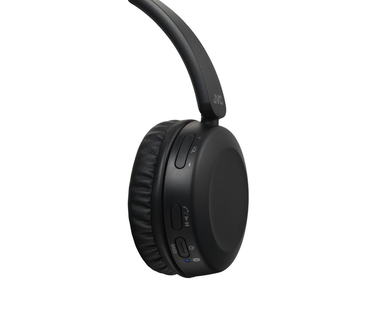 JVC HA-S31BT Bluetooth Headphones - Closeup Controls View
