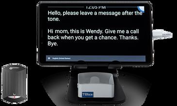 Teltex GLT Captioning Tablet with V2T-10