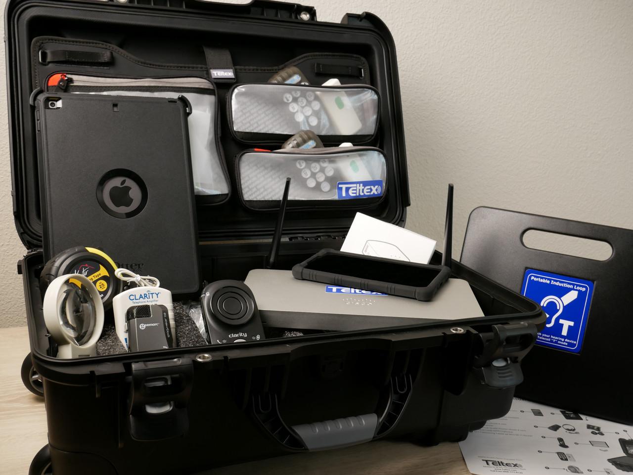 Emergency Communications Kit - Open, Unpacked
