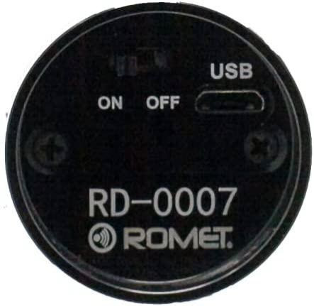 Romet R600 Electronic Larynx (Bottom View)